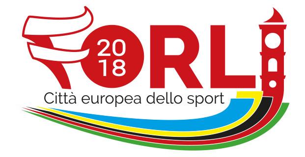 Il Logo di Forlì città europea dello sport 2018