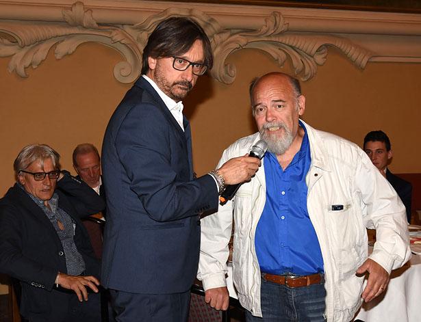 Marco Viroli con Maurizio Ricci