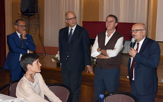 L'intervento del Sindaco di Forlì, Davide Drei